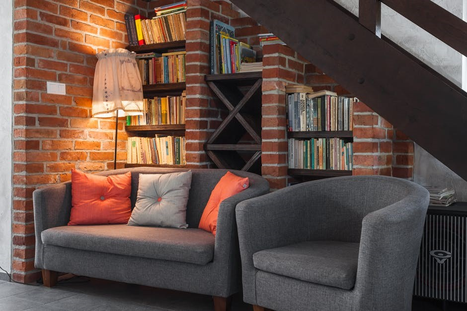 Book Nook under the Stairs